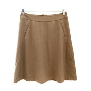Banana Republic Classic A-Line skirt, size 8